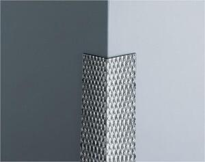 PATTERNED STAINLESS STEEL CORNER GUARD CGP-55