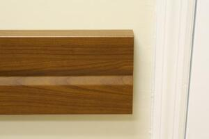 DECORATIVE CRASH RAIL WOOD GRAIN CRDA-1200