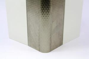 PATTERNED STAINLESS STEEL CORNER GUARD CGP-305