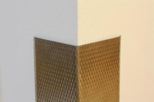 PATTERNED STAINLESS STEEL CORNER GUARD CGP-60
