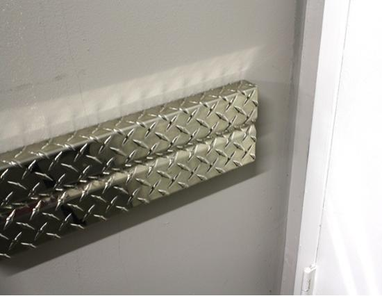 Diamond Plate Wall Guards